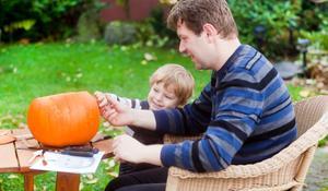 Dynia na Halloween - KROK I: przygotowanie dyni