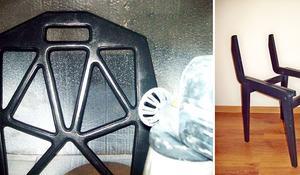 KROK IV Malowanie elementów krzesła